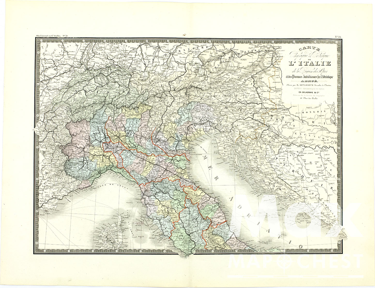 Mapchest Buy Authentic Old Maps Online